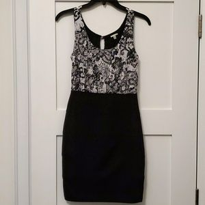 Empire waist fitted dress